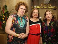 Leda Maria, Beatriz Alcantara e Nadja de Sá Cavalcante