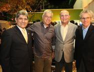 José Augusto Bezerra, Paulo César Noroes, João Soarez de Melo e Padua Lopes