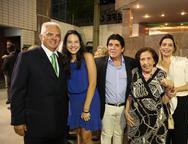 Tales e Hildete de Sá Cavalcante, Dito e Deise Machado e Jaqueline de Sá Cavalcante