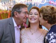 Natalia, Ot�vio e Telma Albuquerque