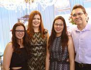 Rebeca Coelho, Lucia, Sarah, Jos� e Maria Coelho