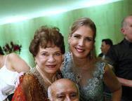 Silvinha, Otomar Soares e Marjorie Marshall