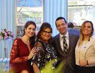 Vivian Marshall, Ana Pinheiro, Fred Albuquerque e  Adriana Luna