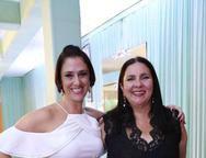 Adriana Sampaio e Ana Clara