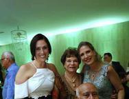 Adriana Sampaio, Silvinha Soares, Otomar e Marjorie Marshall