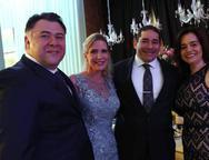 Andr�, Marjorie, Alexandre e Lia Freire
