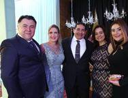 Andr�, Monte, Marjorie Marshall, Alexandre Pitta, Lia Freire e Lia Pinheiro