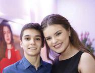 Arthur Bertine e Ana Lins Turatti