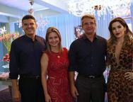 Claudio Barreira, Karine Barreira, Heitor Barreto e Ludmilla Barreto
