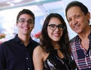 Davi Benevides, Paula Dias e Djalma Pinto