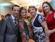 Fred, Kamilla, Telma e Mirella Albuquerque