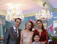Fred, Natalia, Vivian e Arthur