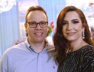 In�cio Guimar�es e Tatiana Queiroz