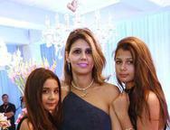 Leticia, Josiane e Natalia C�mara