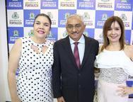 Ana Juaçaba, Eliomar de Lima e Carmen Ines