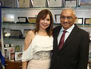 Carmen Ines e Eliomar de Lima