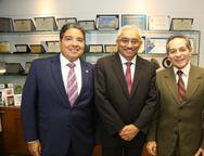 Leandro Vasques, Eliomar de Lima e Heitor Ferrer