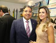 Leandro e Aline Vaques