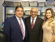 Leandro Vasques, Eliomar de Lima e Aline Vasques