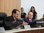 Salmito Filho, Roberto Claudio e Heitor Ferrer