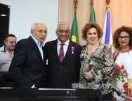 Paulino Solto, Eliomar de Lima, Leda Maria e Tania Alves