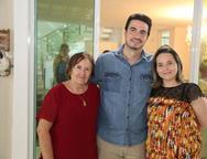 Célia Bezerra, Ricardo e  Val Tavares