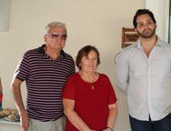 Jacó Benvindo, Célia Bezerra e Felipe Dantas