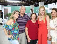 Kathiana Bezerra, Jaco Benvindo, Celina Bezerra, Branca Mourao e Karina Bezerra