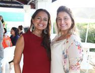 Nazaré Santiago e Karina Bezerra