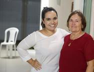 Rebeca Chaves e Célia Bezerra