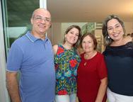 Paulo Figueiredo, Kathiana e Célia Bezerra e Suzana Figueiredo