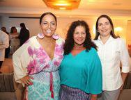 Gil Santos, Márcia Campos e Denise Bezerra