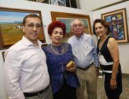 Delano Belchior, Josilda Belchior, Walter Belchior e Ana Maria Sampaio