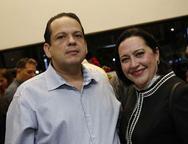 Marcos Lage e Norma Zélia