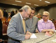 Cândido Albuquerque, Jardson Cruz e Arnaldo Santos
