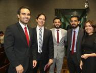 Daniel Maia, Iasser Holanda, Marcio Cunha, Sergio Rebouças e Roberta Cavalcante