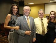 Rebeca e Candido Albuquerque, Carlos e Claudiane Juaçaba