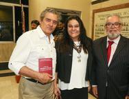 Regis Frota, Aurilia Carneiro e Luiz Eduardo Santos