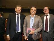 Helio Leitão, Juvencio Viana e Hugo Segundo de Brito