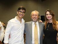 João Henrique, Candido e Carolina Albuquerque