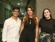 João Henrique, Carolina Albuquerque e Leticia Marinho