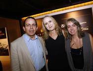 Alexandre Guilhon, Danielle Spatz e Alexandra Dias