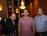 Fabio Souza, Rafael Santiago e  Fernando Avila