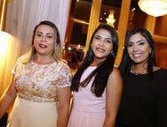 Lurdes Silva, Ana Beatriz e Tais Guerra
