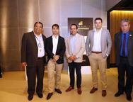 Josiano Pinheiro, Rodrigo Guilhon, Alexandre Guilhon, Vinicius Hortiz e  Rafael Fontoura