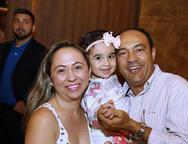 Janete  Alves, Ana Maria e Walter Pereira
