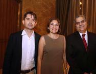 Rodrigo Guilhon,Rosa Moreira e Afranio Melo