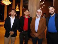 Rodrigo Guilhon,  Idelfonso Silva, Wyllams Gomes,Rude  Fernandes,