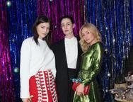Amber Anderson, Erin O'Connor e Clara Paget