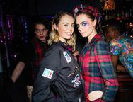 Edie Campbell and Cara Delevingne